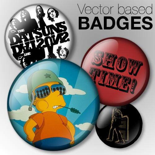Vector Based Badges
