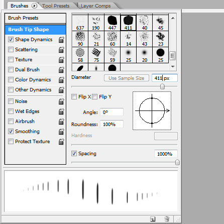 You can find your new Brush in the Brushes Window