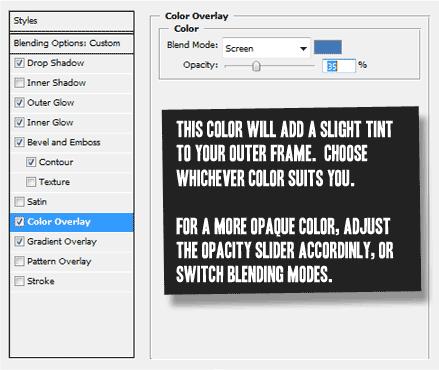 Main Window Color