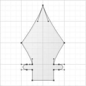 Pen Tool Custom Shape Template