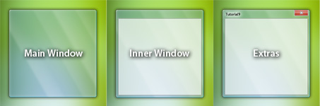 Windows Vista Window Design Components