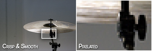 Example of Pixelation