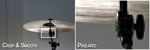 Example of Pixelation