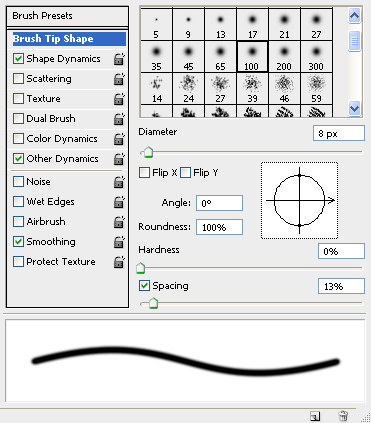Brush Settings