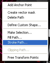 Right Click Path