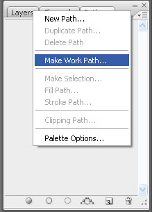 make work path - Quick and Painless Image Vectoring in Photoshop
