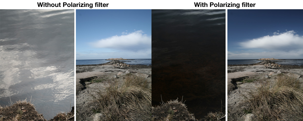 How a Polarizer Filter Works