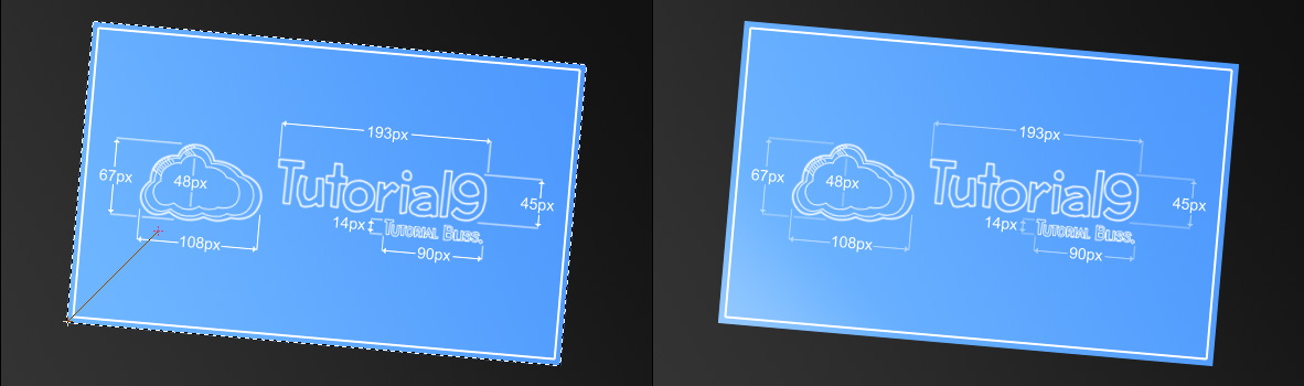 Create a vibrant blueprint in photoshop tutorial9 blueprint glow malvernweather Choice Image