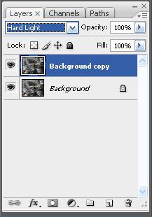 duplicatehardlight - Easy Photo Grunge Effect