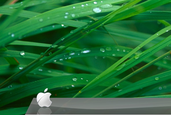 reflection - Create the Glass Shelf Dock from Leopard OS in Photoshop