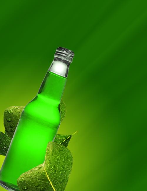 bottleleaves - Add a Fresh Splash to your Design