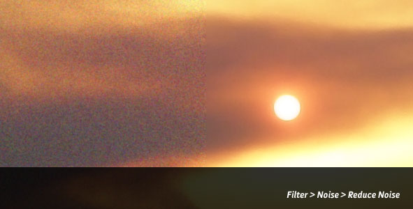 Reduce Noise in a Photograph with the Reduce Noise Filter