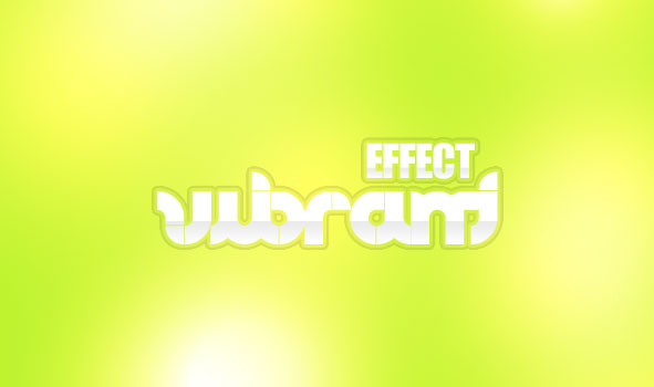 vibrant example - Text Effect Quickie: Vibrant Pop Text Effect
