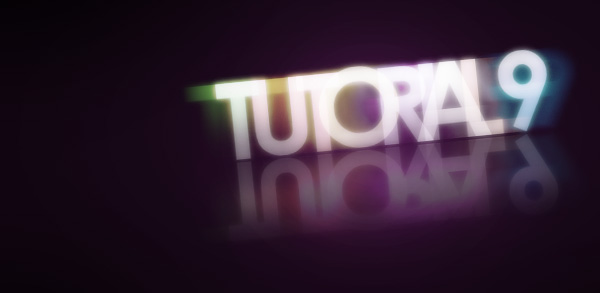 final - Colorful Glowing Text Effect in Photoshop