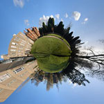 Create a little planet