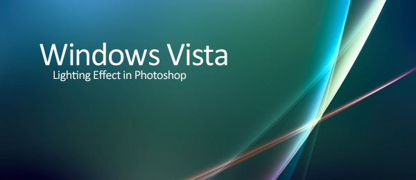 Windows Vista Aurora Effect Photoshop Tutorial