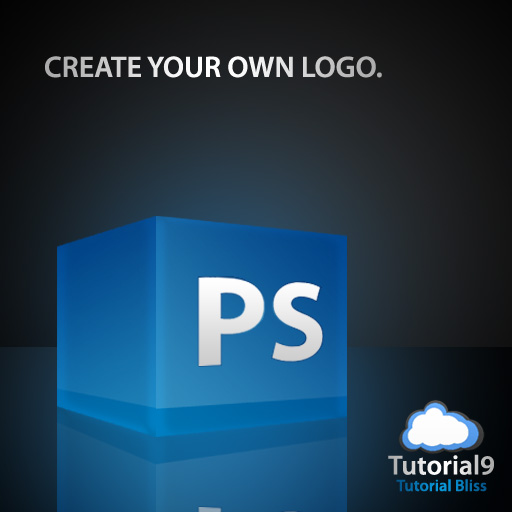 backgroundglow - Create a 3D Glossy Box Logo in Photoshop