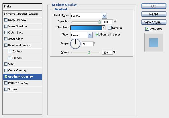 skylightgradienteffect - Create a 3D Glossy Box Logo in Photoshop