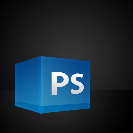 text - Create a 3D Glossy Box Logo in Photoshop