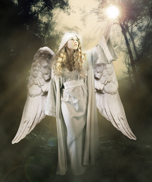 final result small - Create a Divine Angel Montage in Photoshop