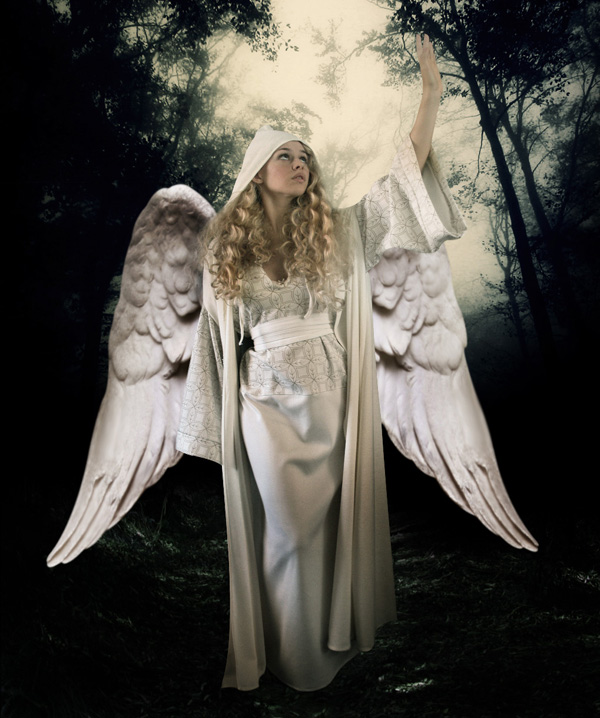 step11c - Create a Divine Angel Montage in Photoshop