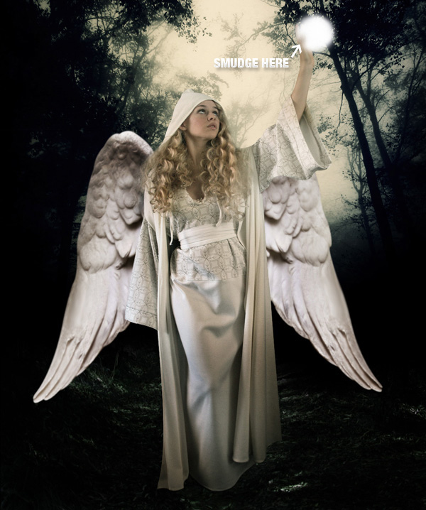 step12b - Create a Divine Angel Montage in Photoshop