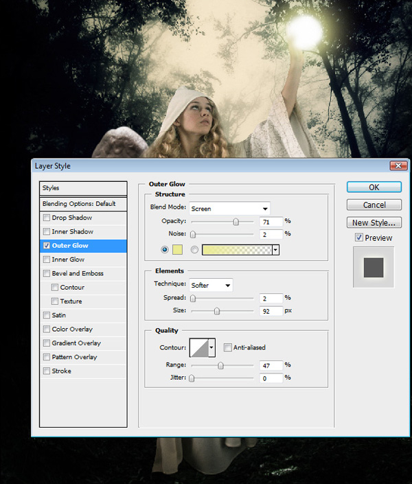 step13 - Create a Divine Angel Montage in Photoshop