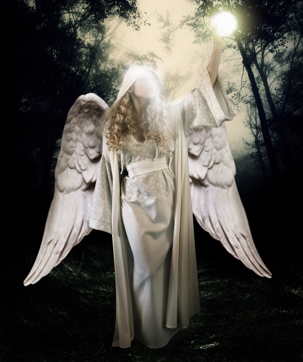 step14a - Create a Divine Angel Montage in Photoshop