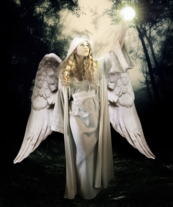 step16 - Create a Divine Angel Montage in Photoshop