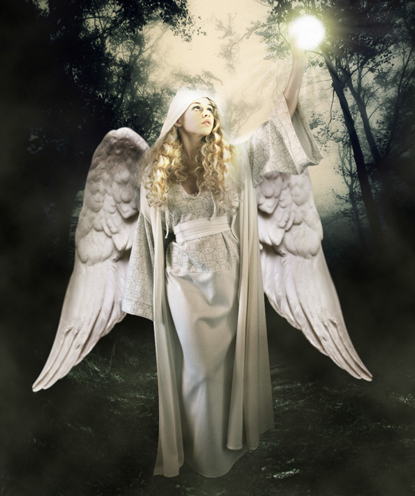 step18 - Create a Divine Angel Montage in Photoshop