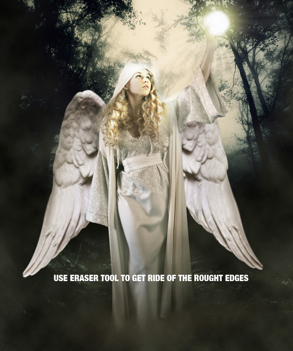 step20b - Create a Divine Angel Montage in Photoshop