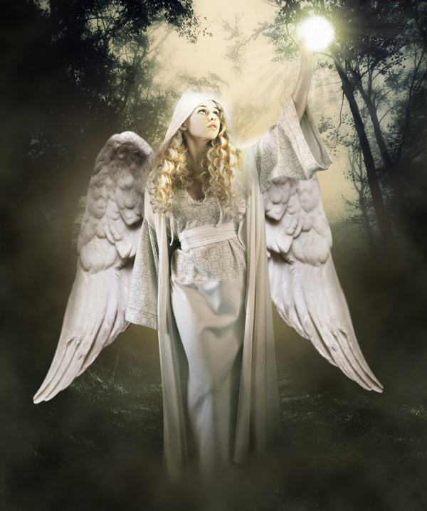 step21 - Create a Divine Angel Montage in Photoshop