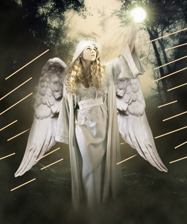 step22 - Create a Divine Angel Montage in Photoshop