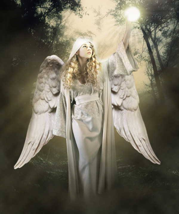step23 - Create a Divine Angel Montage in Photoshop
