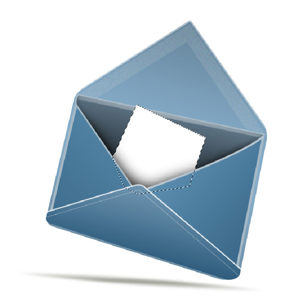 step12 - Design a Stylish Mail Icon in Photoshop