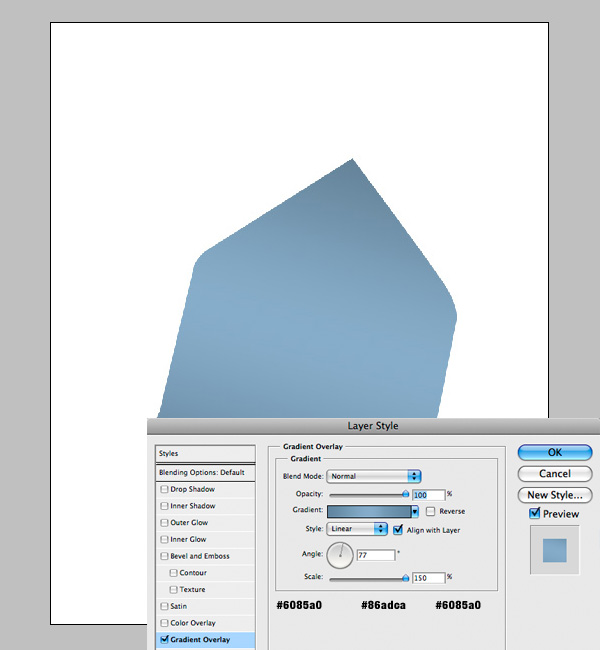 step3 - Design a Stylish Mail Icon in Photoshop