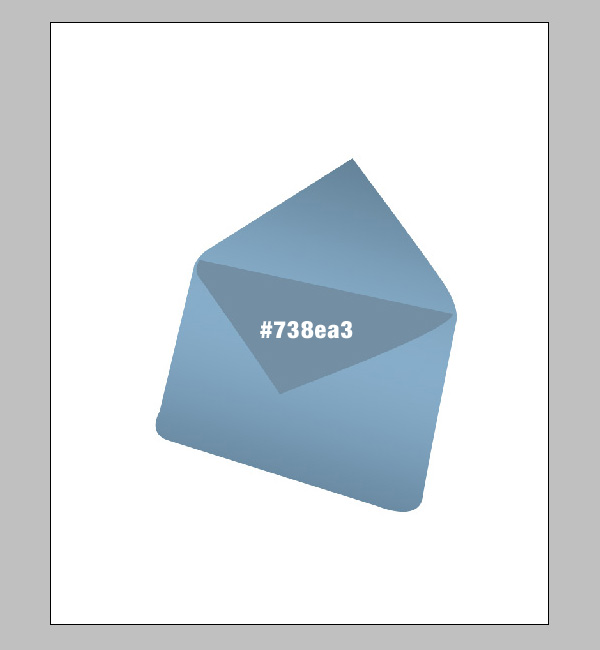 step4 - Design a Stylish Mail Icon in Photoshop