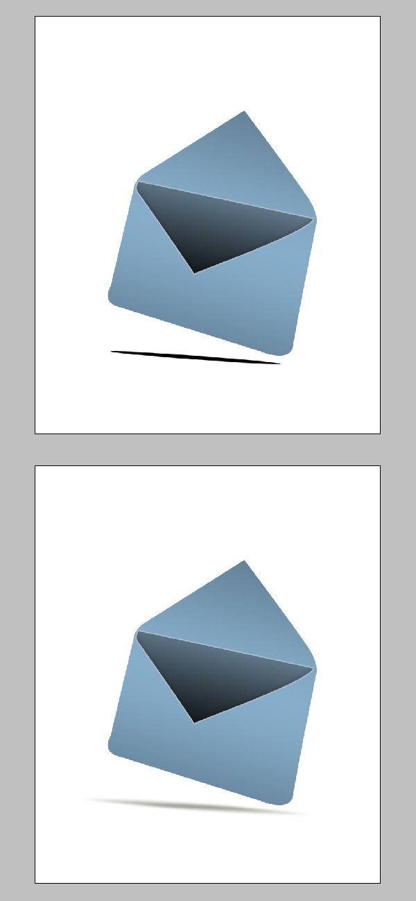 step6 - Design a Stylish Mail Icon in Photoshop