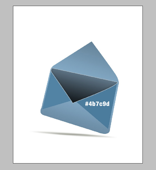 step7a - Design a Stylish Mail Icon in Photoshop