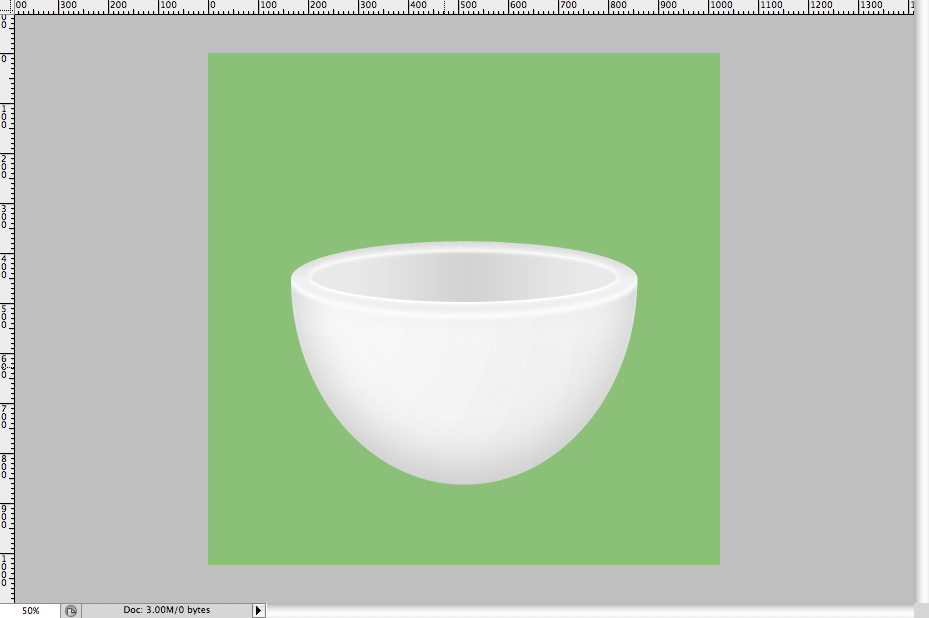 20 - Simple Coffee Cup Icon Photoshop Tutorial