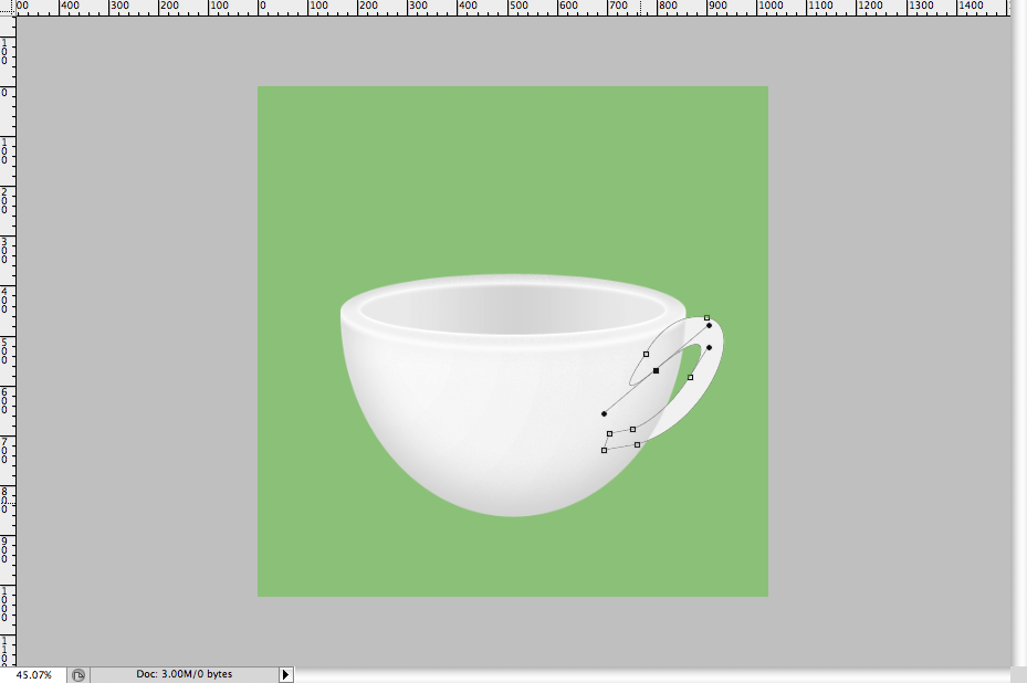 21 - Simple Coffee Cup Icon Photoshop Tutorial