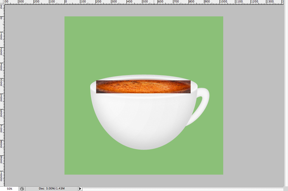 28 - Simple Coffee Cup Icon Photoshop Tutorial