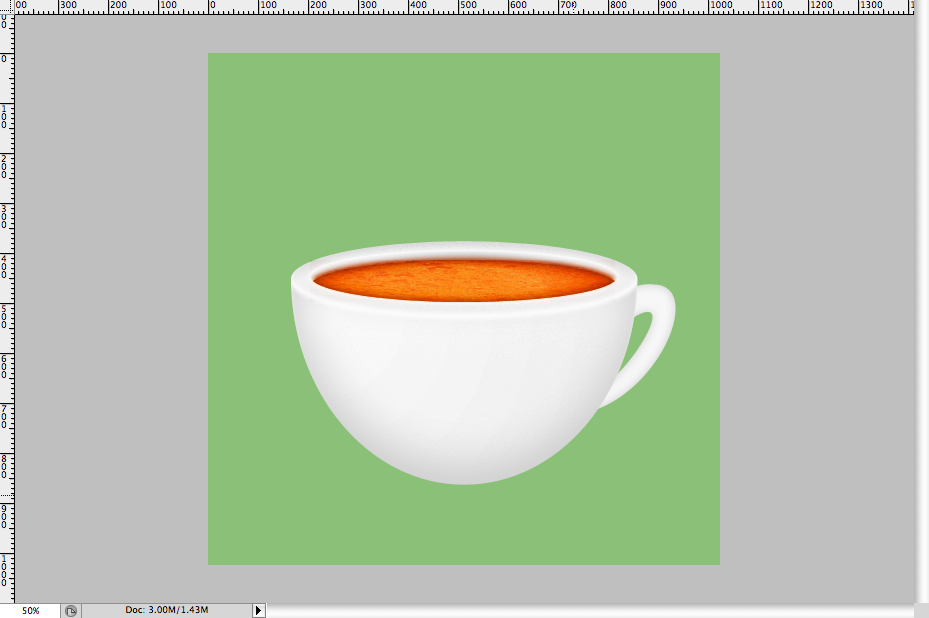 30 - Simple Coffee Cup Icon Photoshop Tutorial