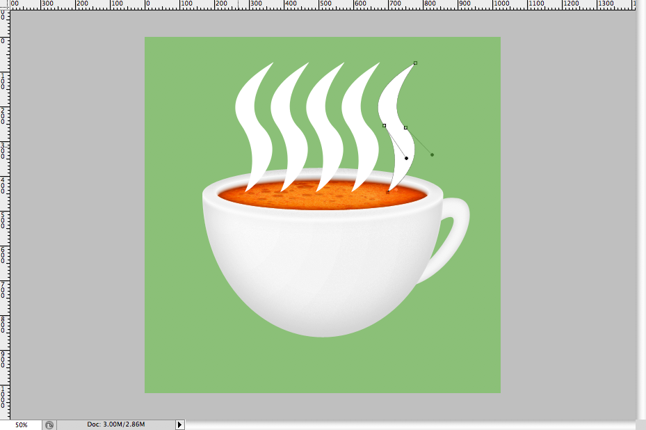 32 - Simple Coffee Cup Icon Photoshop Tutorial