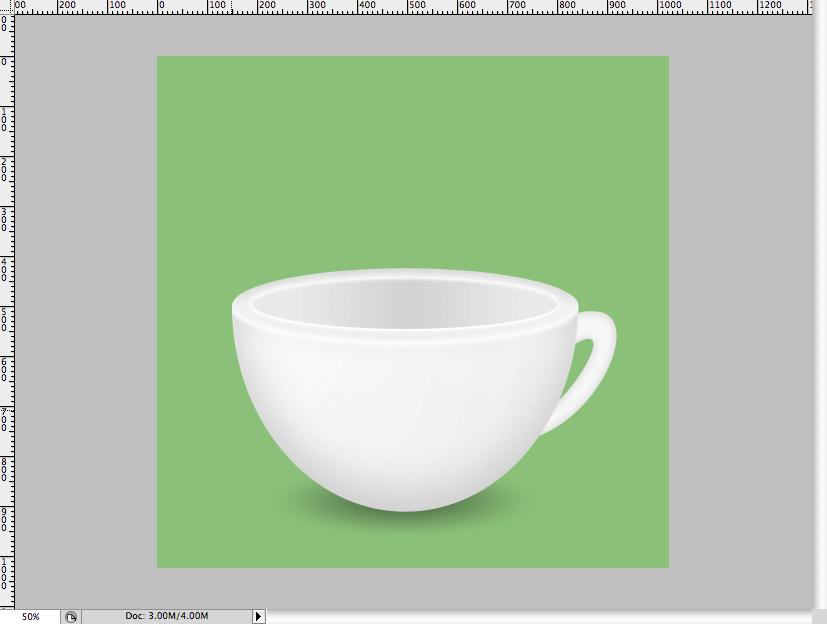 halfway - Simple Coffee Cup Icon Photoshop Tutorial
