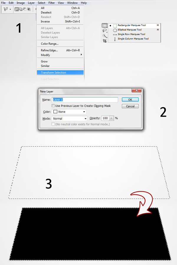1 2 3 - Design a 3D Box Icon in Photoshop