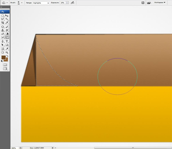 14 - Design a 3D Box Icon in Photoshop
