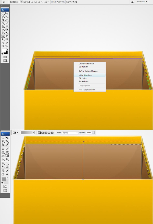 23 24 - Design a 3D Box Icon in Photoshop