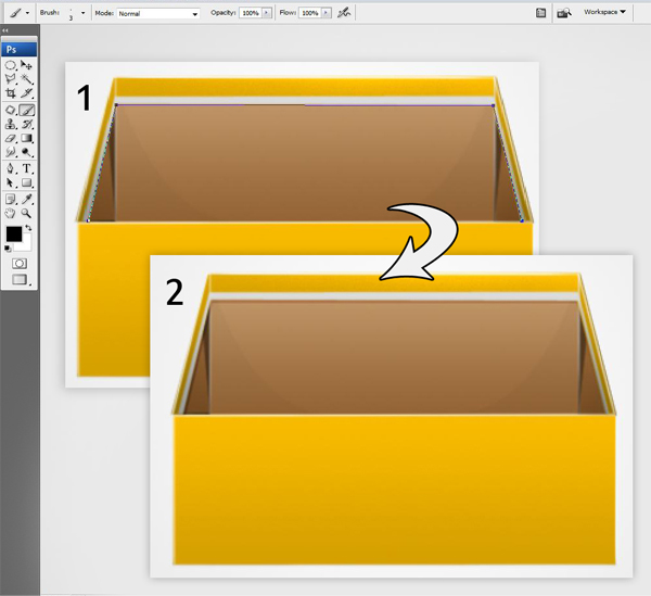 25 26 - Design a 3D Box Icon in Photoshop