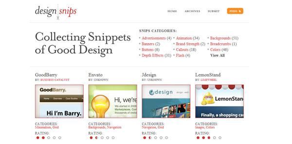 design|snips
